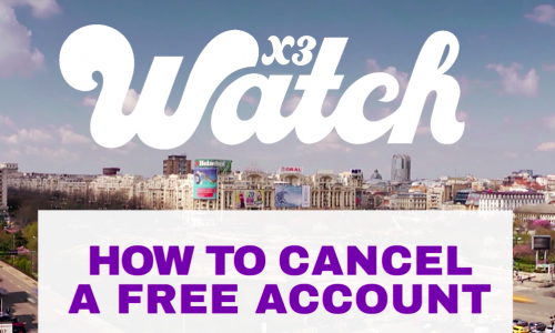 Cancel Free Account