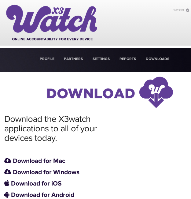 X3watch downloads
