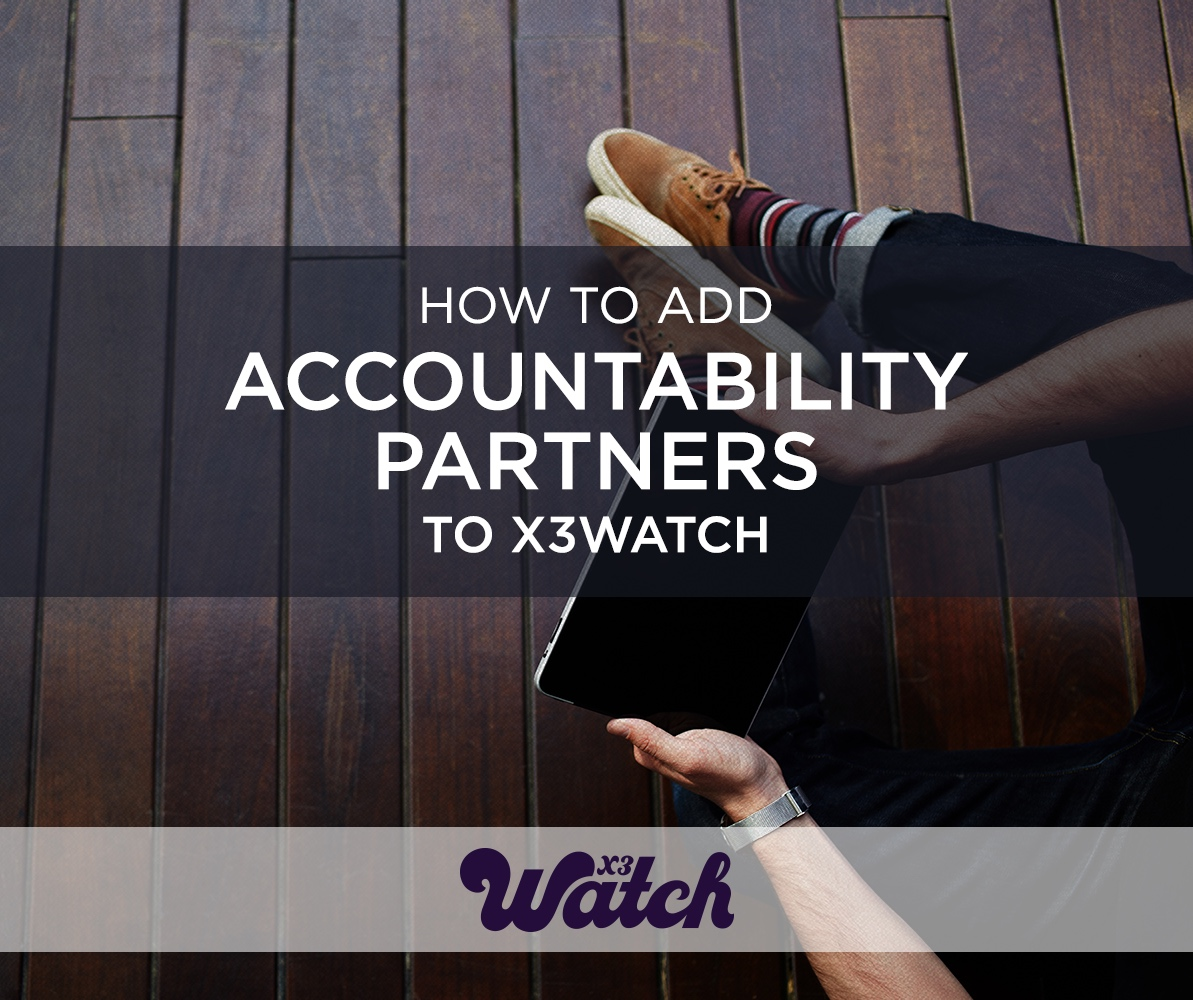 how to add accountability partner