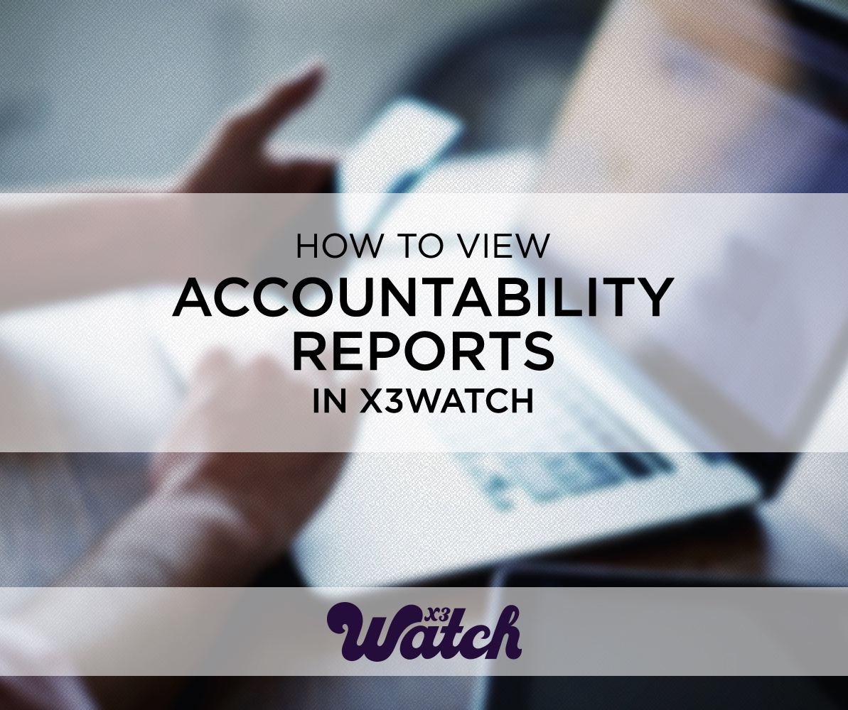 how to view accountability report